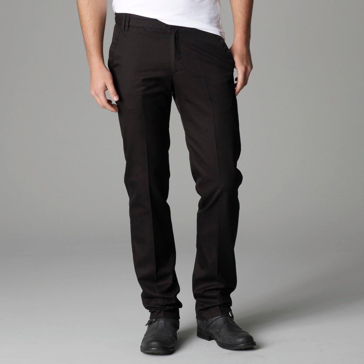 pantalon chino noir homme zara
